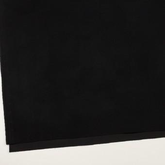 コットン&ポリウレタン×無地(ブラック)×フランネル・ストレッチ_全3色 サムネイル2