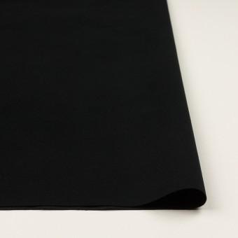 コットン&ポリウレタン×無地(ブラック)×フランネル・ストレッチ_全3色 サムネイル3