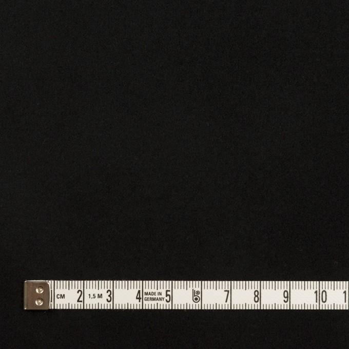コットン&ポリウレタン×無地(ブラック)×フランネル・ストレッチ_全3色 イメージ4