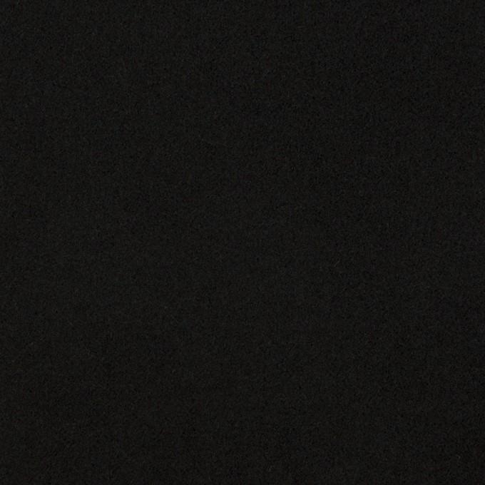 コットン&ポリウレタン×無地(ブラック)×フランネル・ストレッチ_全3色 イメージ1
