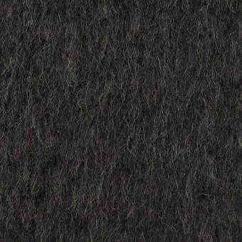 ウール&アクリル混×無地(チャコール)×シャギー