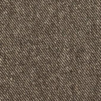 ウール&レーヨン混×ミックス(ダークブラウン)×サージ サムネイル1
