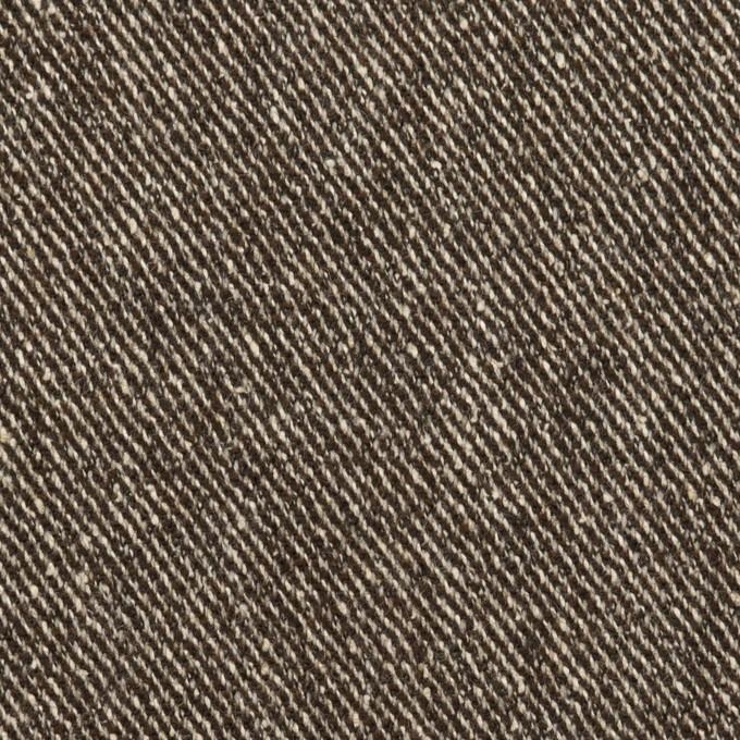 ウール&レーヨン混×ミックス(ダークブラウン)×サージ イメージ1