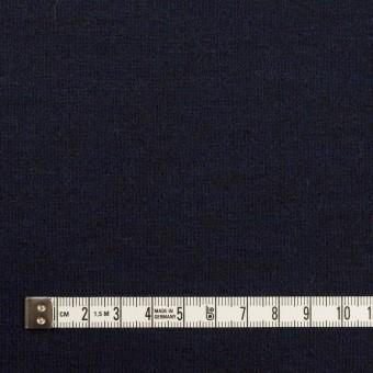 ウール×無地(ミッドナイトブルー&ブラック)×Wニット サムネイル4