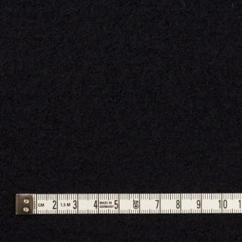ウール&アクリル混×無地(ブラック)×ループニット サムネイル4