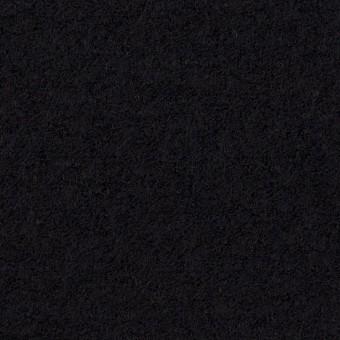ウール&アクリル混×無地(ブラック)×ループニット