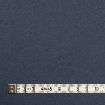 コットン&ポリウレタン×無地(アッシュネイビー)×フランネル・ストレッチ サムネイル4