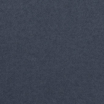コットン&ポリウレタン×無地(アッシュネイビー)×フランネル・ストレッチ
