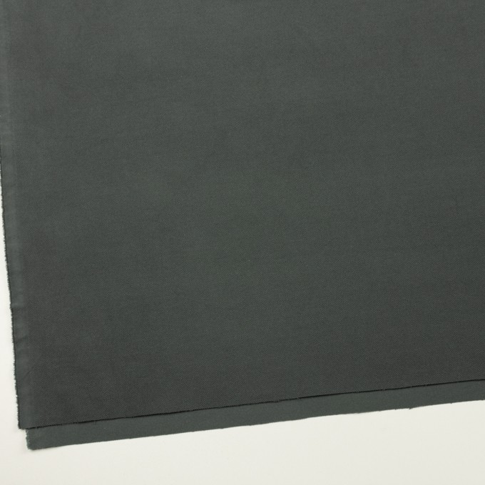 コットン&ポリウレタン×無地(スチールグレー)×ビエラストレッチ イメージ2