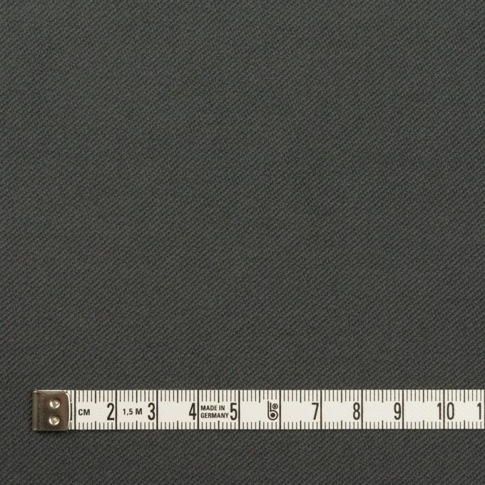 コットン&ポリウレタン×無地(スチールグレー)×ビエラストレッチ イメージ4