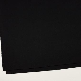 ウール&アンゴラ×無地(ブラック)×フラノ(フランネル) サムネイル2