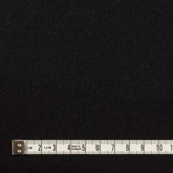 ウール&アンゴラ×無地(ブラック)×フラノ(フランネル) サムネイル4