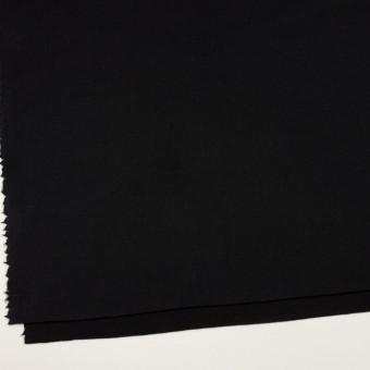 ウール×無地(ブラック)×Wフェイスフラノ サムネイル2