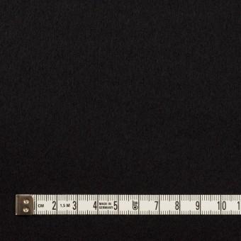 ウール×無地(ブラック)×Wフェイスフラノ サムネイル4