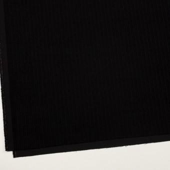 ウール×無地(ブラック)×太コーデュロイ サムネイル2