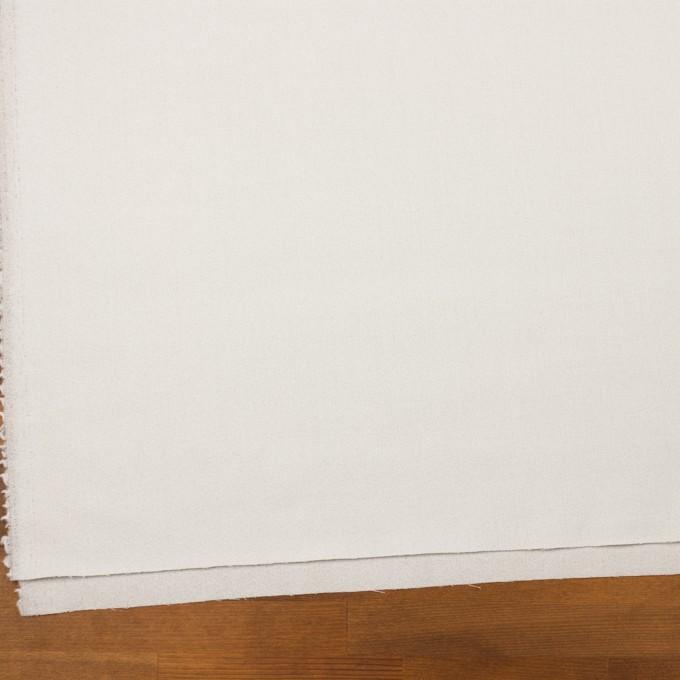 ウール×無地(パールグレー)×ジョーゼット イメージ2