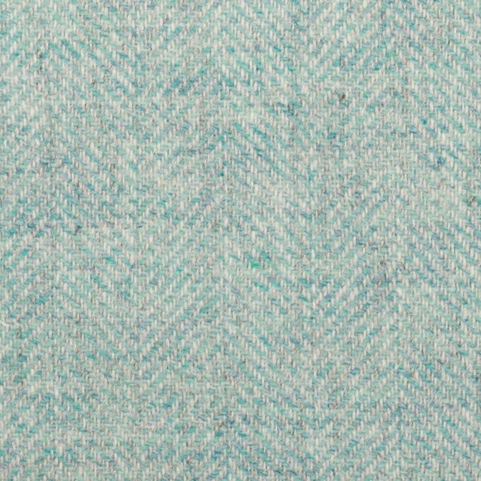 ウール&アクリル混×ミックス(アクア)×ツイード イメージ1