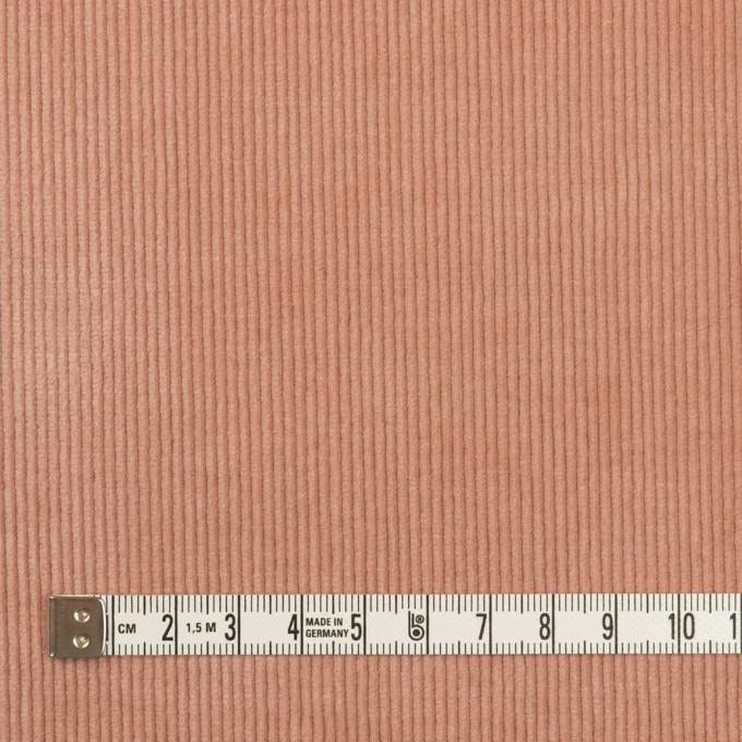 ポリエステル&コットン混×無地(サーモン)×中細コーデュロイ・ストレッチ(クラッシュ加工) イメージ4