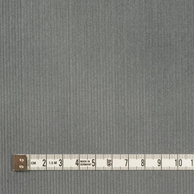 コットン×無地(アイビーグレー)×中細コーデュロイ イメージ4