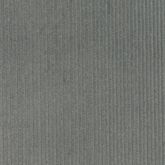 コットン×無地(アイビーグレー)×中細コーデュロイ イメージ1