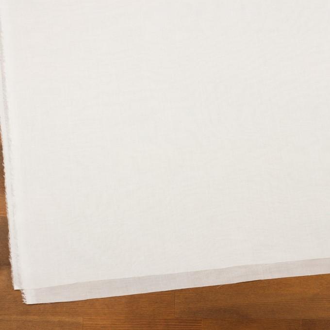 コットン×無地(オフホワイト)×サージ イメージ2