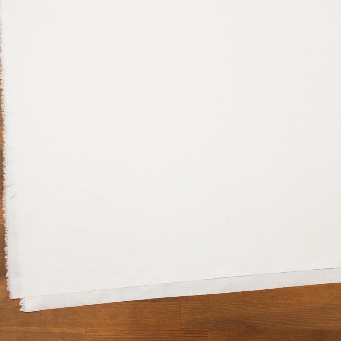ポリエステル×無地(オフホワイト)×ローン(裏面コーティング) イメージ2