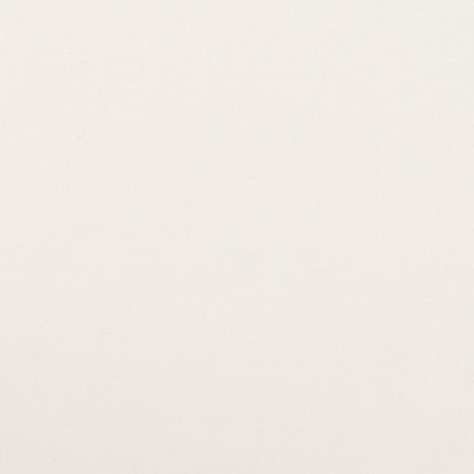 ポリエステル×無地(オフホワイト)×ローン(裏面コーティング) イメージ1