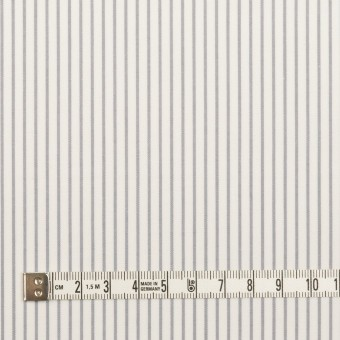 コットン×ストライプ(グレー)×ブロード_全4色 サムネイル4