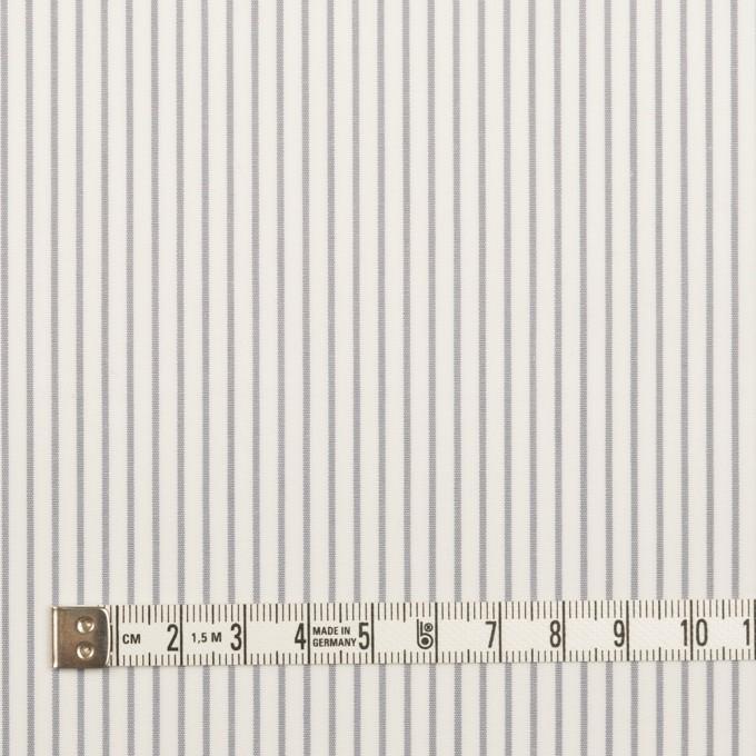 コットン×ストライプ(グレー)×ブロード_全4色 イメージ4