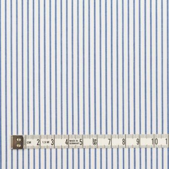 コットン×ストライプ(サックス)×ブロード_全4色 サムネイル4