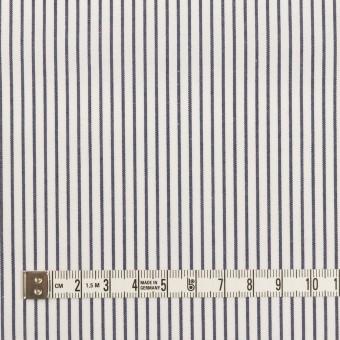 コットン×ストライプ(ネイビー)×ブロード_全4色 サムネイル4