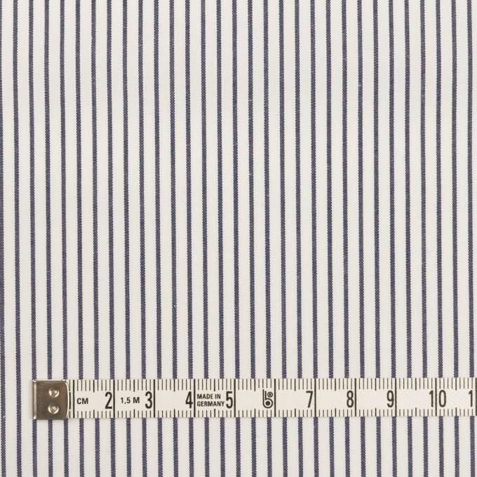 コットン×ストライプ(ネイビー)×ブロード_全4色 イメージ4