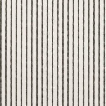 コットン×ストライプ(チャコール)×ブロード_全4色 サムネイル1
