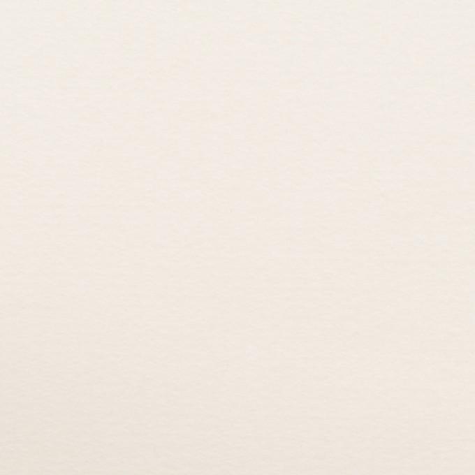 コットン&ウール混×無地(ミルク)×フランネル・ストレッチ イメージ1