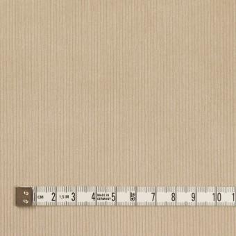 コットン&ポリウレタン×無地(カーキベージュ)×中細コーデュロイ・ストレッチ_全3色 サムネイル4
