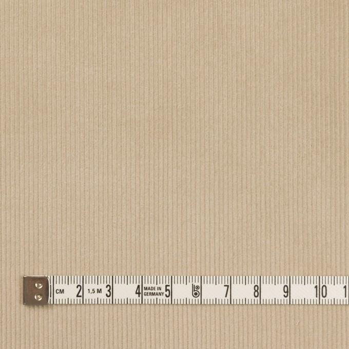 コットン&ポリウレタン×無地(カーキベージュ)×中細コーデュロイ・ストレッチ_全3色 イメージ4