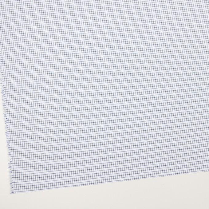 コットン×チェック(ブルー&ネイビー)×ブロード イメージ2