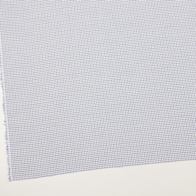 コットン×チェック(ブルー&チャコール)×ブロード イメージ2
