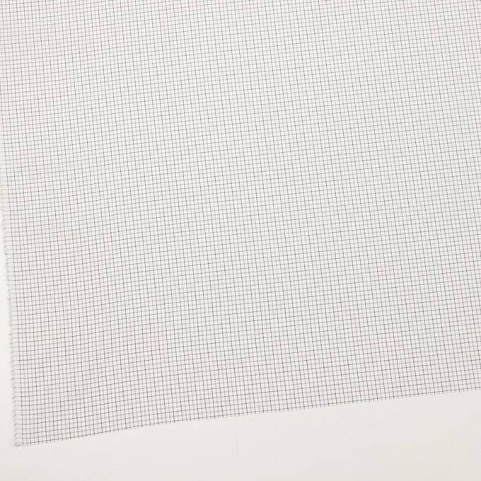 コットン×チェック(チャコールグレー)×ブロード イメージ2