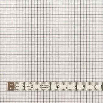 コットン×チェック(チャコールグレー)×ブロード サムネイル4