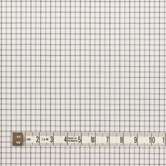 コットン×チェック(チャコールグレー)×ブロード イメージ4