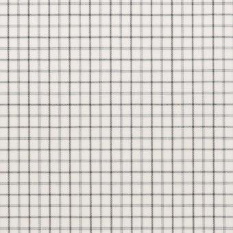 コットン×チェック(チャコールグレー)×ブロード サムネイル1