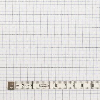 コットン&ポリエステル×チェック(サックス&ネイビー)×ジャガード_全2色 サムネイル4