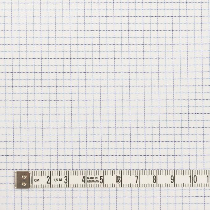 コットン&ポリエステル×チェック(サックス&ネイビー)×ジャガード_全2色 イメージ4