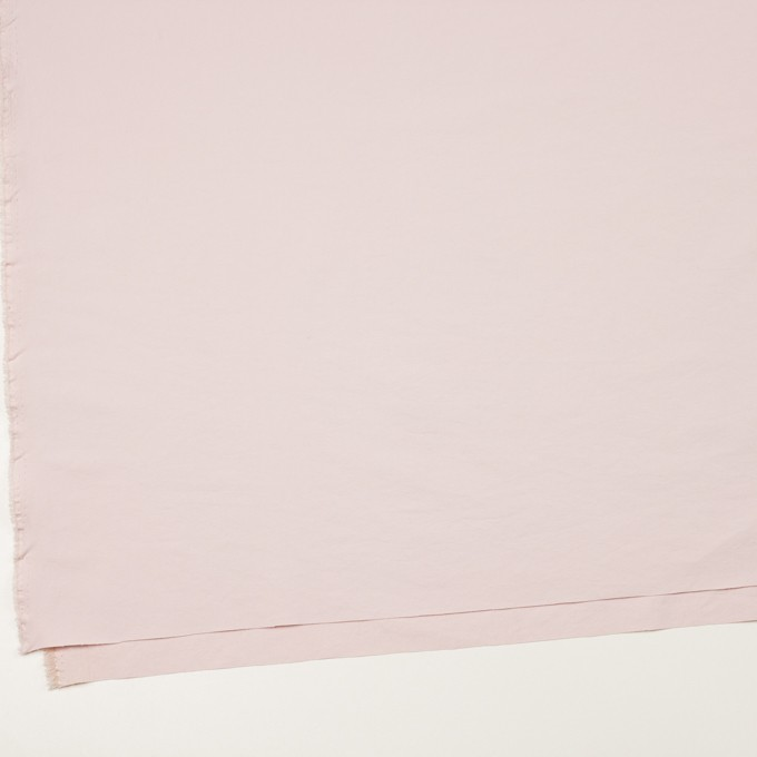 ポリエステル&ポリウレタン×無地(パウダーピンク)×サージ・ストレッチ_全10色 イメージ2