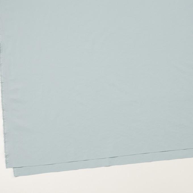 ポリエステル&ポリウレタン×無地(フロスティブルー)×サージ・ストレッチ_全10色 イメージ2