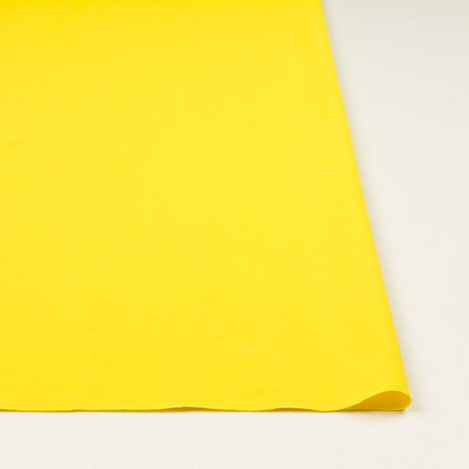 ポリエステル&ポリウレタン×無地(レモン)×サージ・ストレッチ_全10色 イメージ3