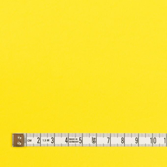 ポリエステル&ポリウレタン×無地(レモン)×サージ・ストレッチ_全10色 イメージ4