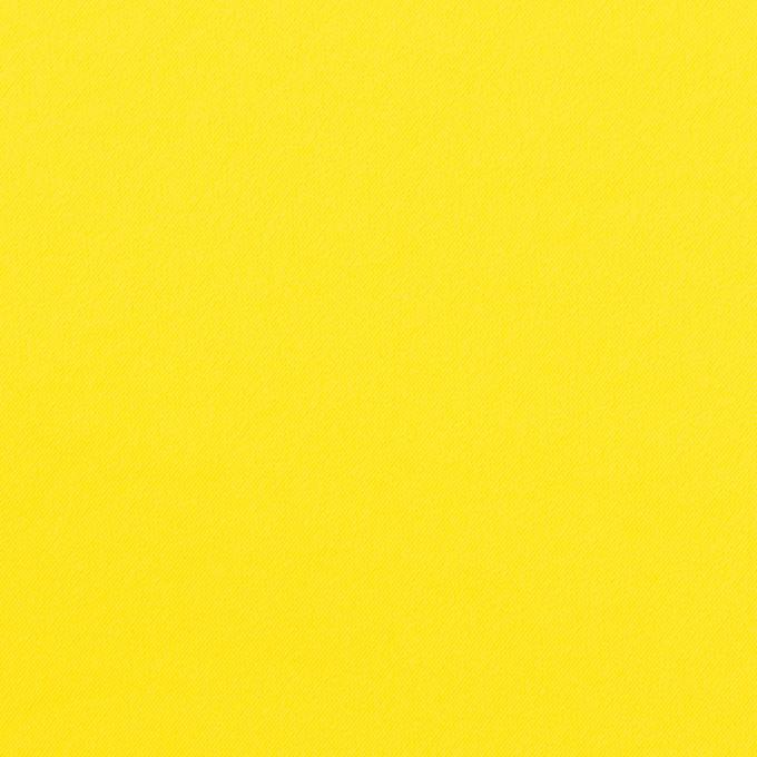 ポリエステル&ポリウレタン×無地(レモン)×サージ・ストレッチ_全10色 イメージ1