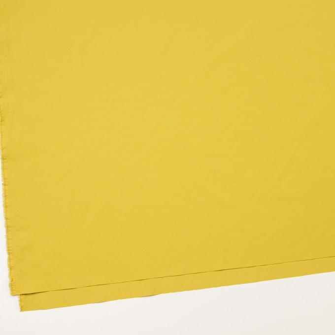 ポリエステル&ポリウレタン×無地(マスタード)×サージ・ストレッチ_全10色 イメージ2